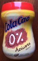 Cola Cao 0% Azúcares Añadidos - Produit