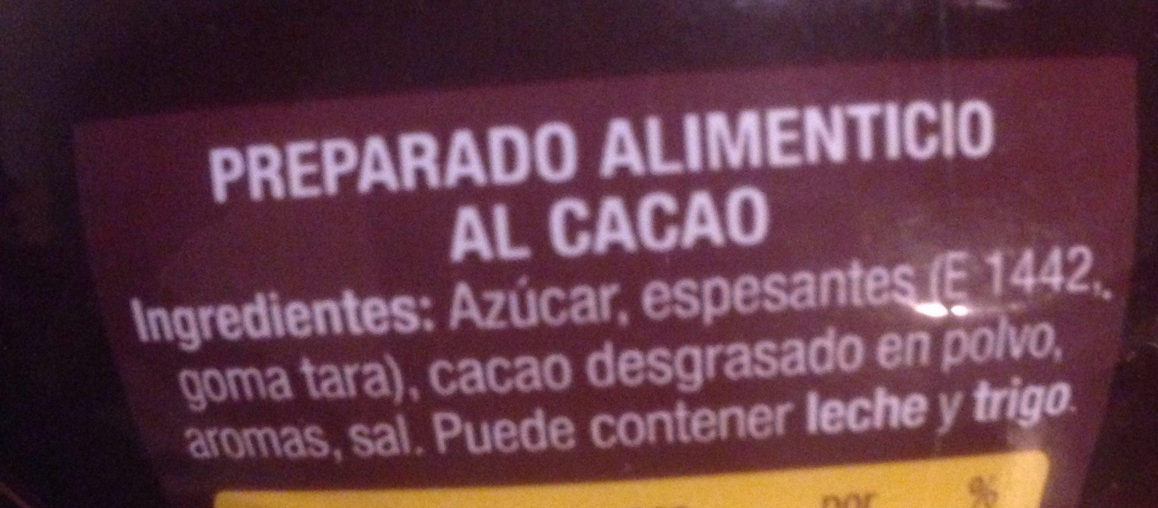 Paladin - Trinkschokolade / Paladin - 500 g - Ingredientes