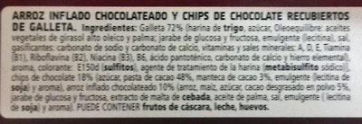 Choco Flakes Callejeros - Ingredients