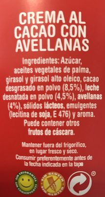 Nocilla & crepes - Ingrediënten