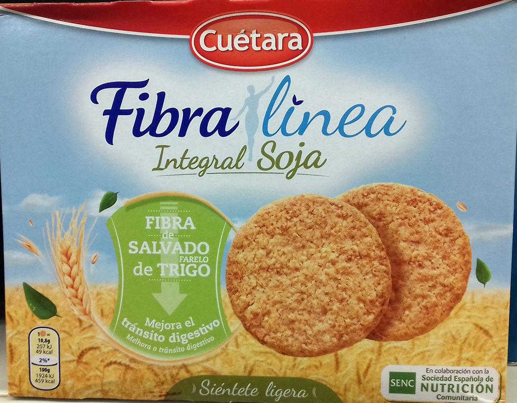 Galletas Fibra línea Integral Soja - Produit - es