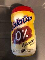 Cola Cao 0% 750g - Producto