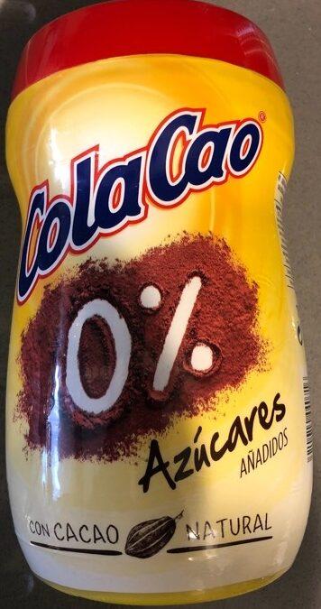 Cola Cao 0% - Producto - es