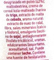 Cacao 0% - Ingrédients - es