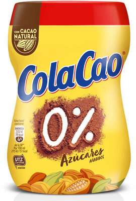 ColaCao 0% Azúcares añadidos - Produit - es
