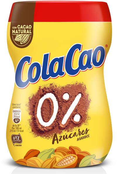 Cola Cao 0% azúcares añadidos - Produto - es
