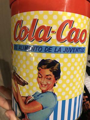 Cola Cao Llauna Vintage 1,4 KG - Ingredientes