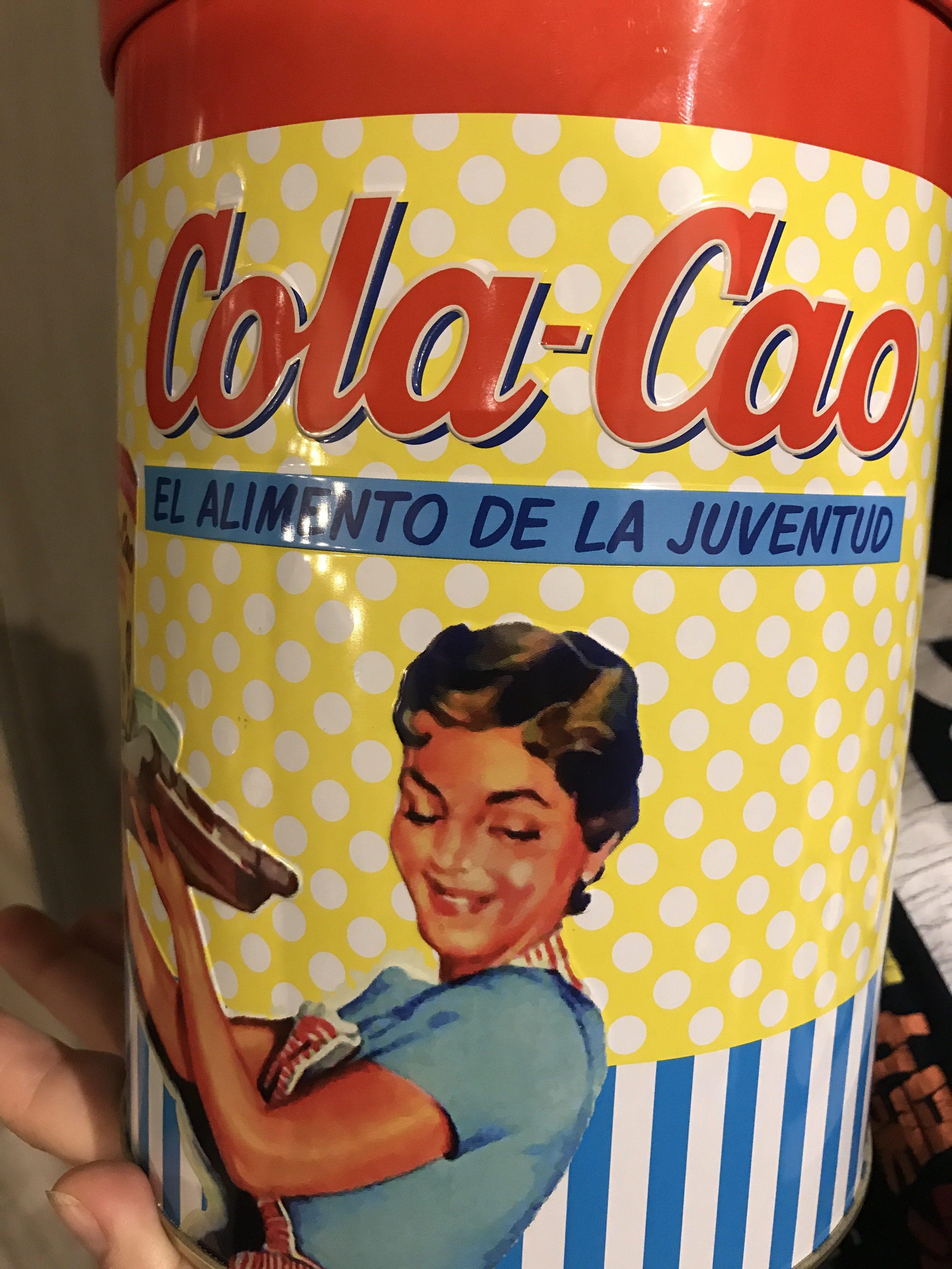 Cola Cao Llauna Vintage 1,4 KG - Ingredientes - es
