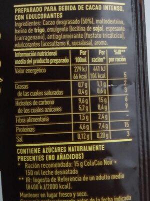 Cola Cao Noir - 2