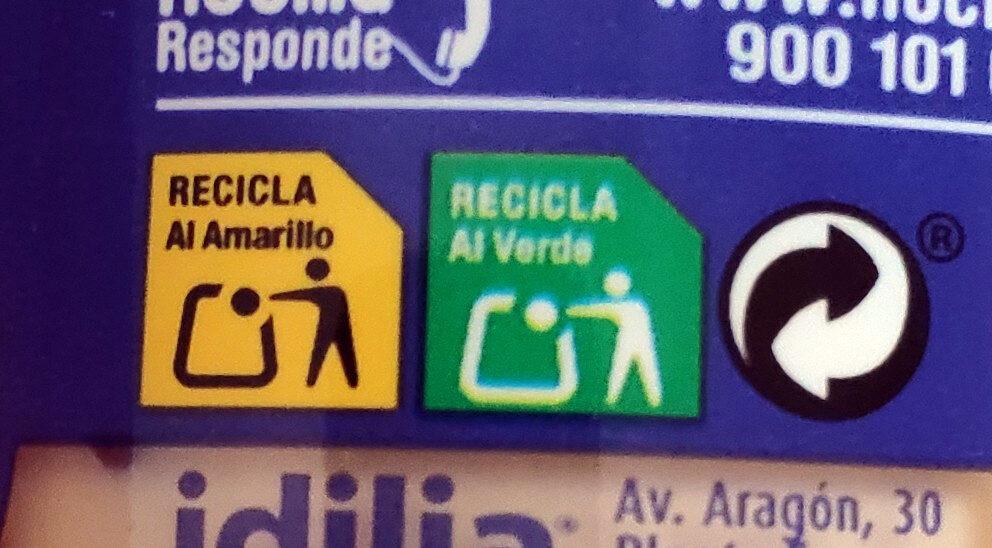 Chocoleche - Istruzioni per il riciclaggio e/o informazioni sull'imballaggio - es