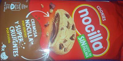 Cookies rellenas de Nocilla - Prodotto - es