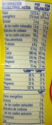 Cola Cao Original - Informació nutricional - es
