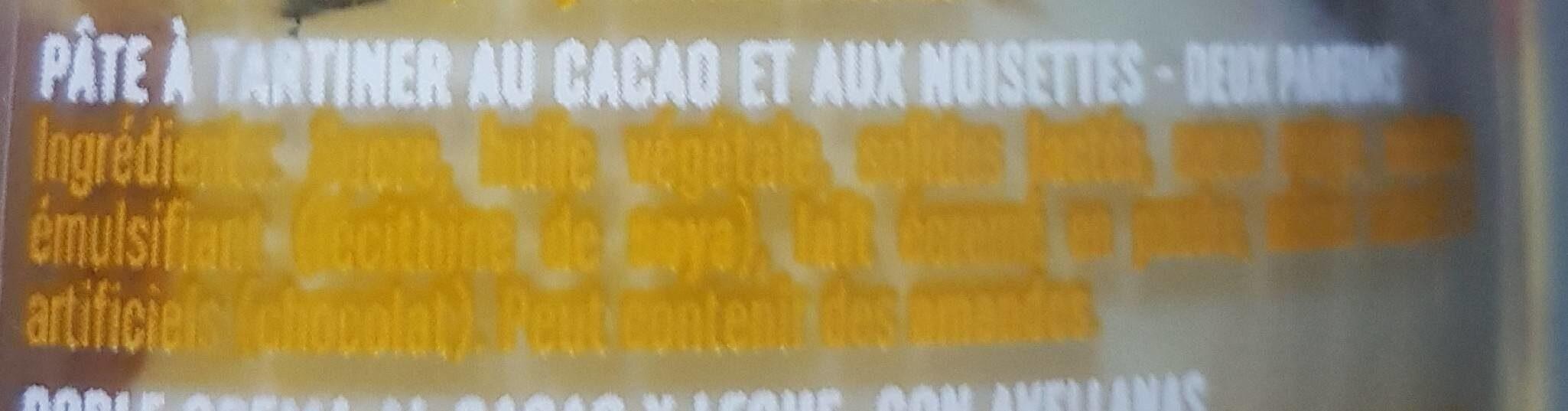 Nocilla Two flavour - Ingredienti - fr