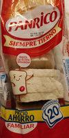 Pan de Molde sin Corteza Blanco Familiar - Producto