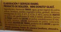 Donuts - Ingredients - es