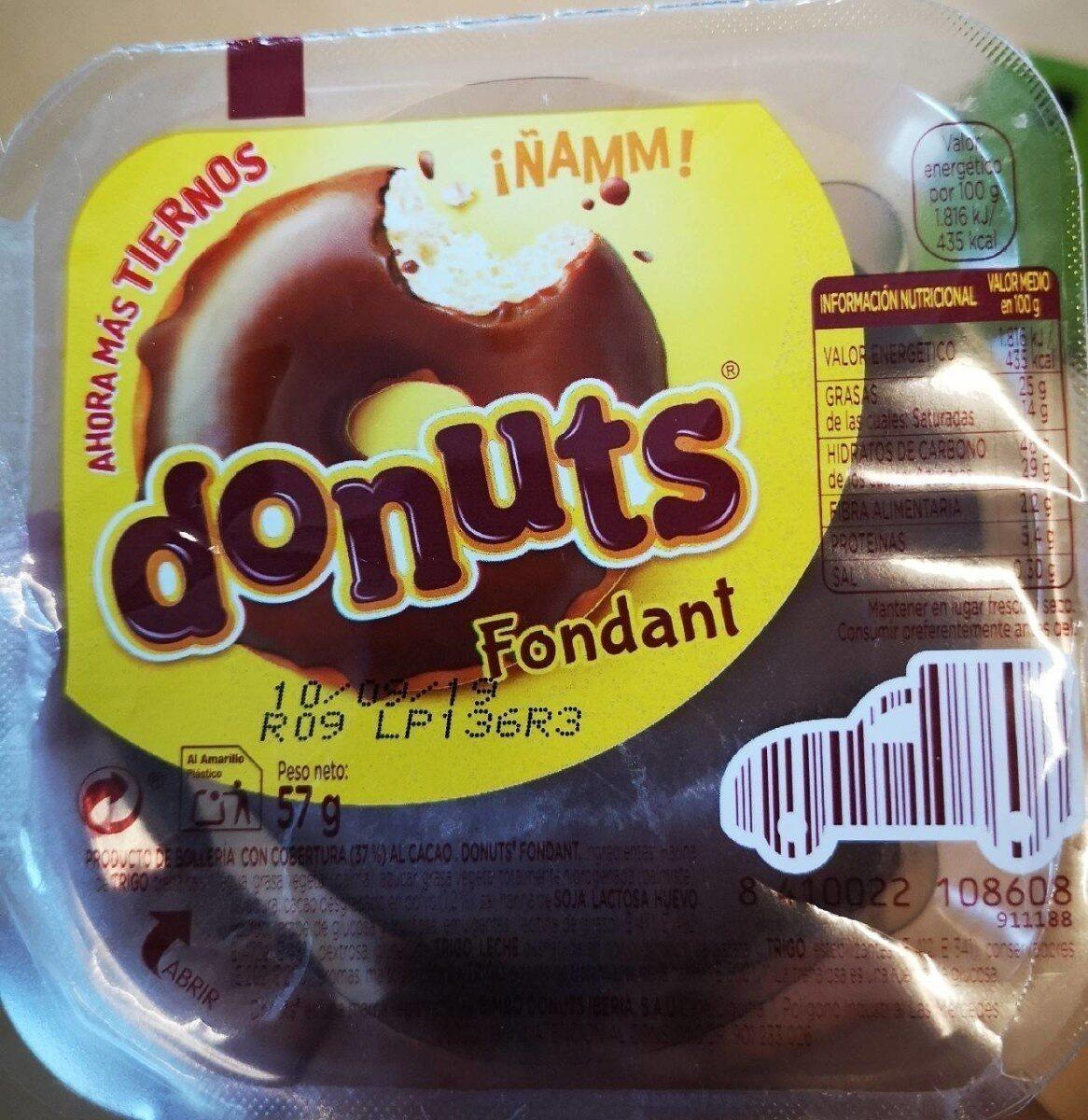 Donuts fondant - Producte - es
