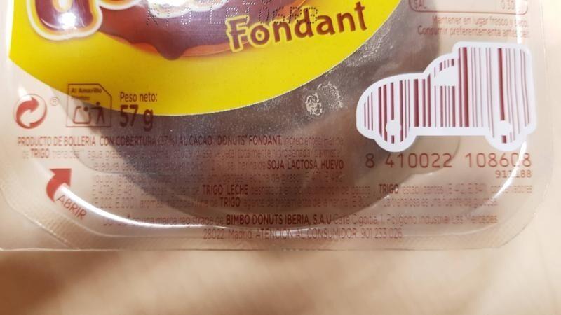 Donuts fondant - Ingredients - es