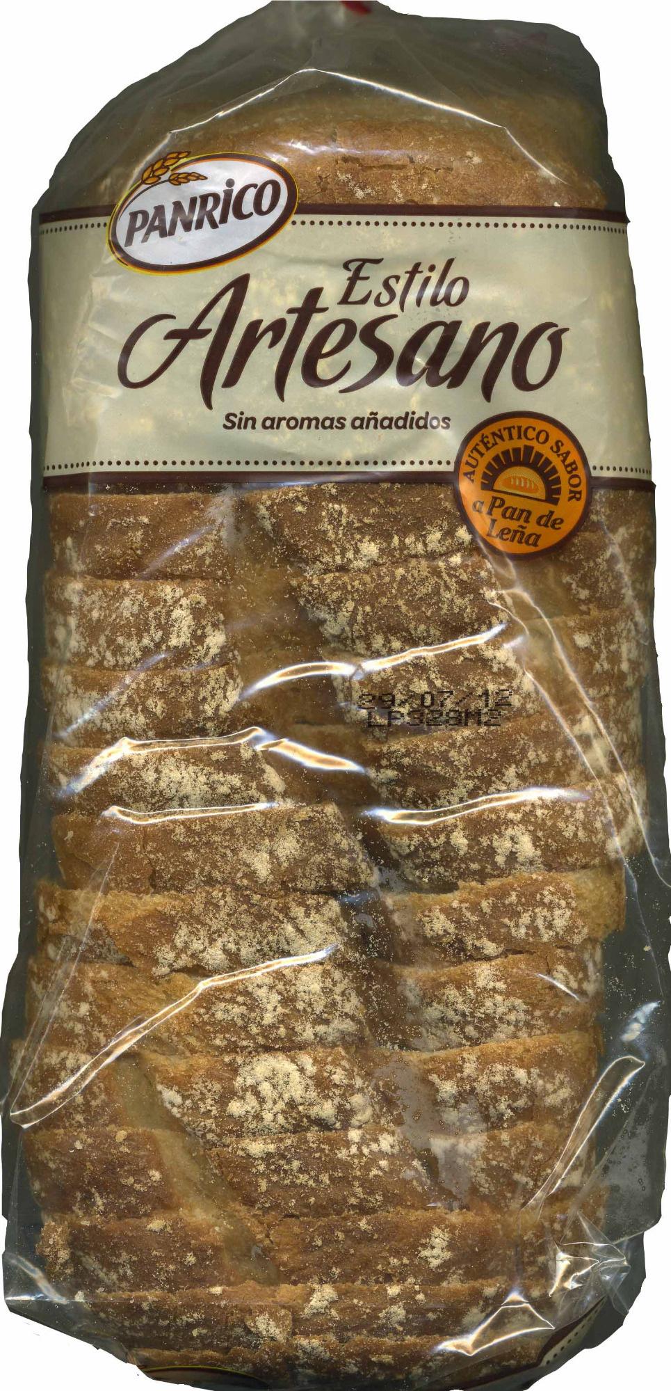 Pan de molde Estilo artesano - Producto - es