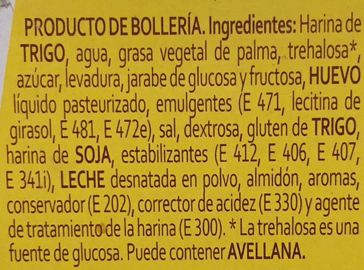 Donuts Panrico Glace Pack - Ingredientes - es
