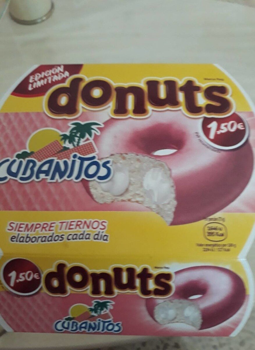 Donuts Cubanitos - Producte