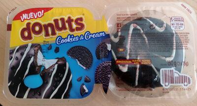 Donuts cookies & cream - Producte - es