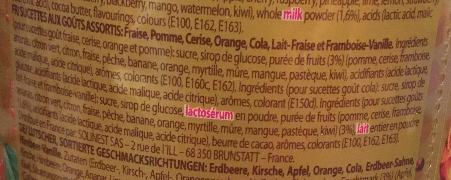Best of Tubo - Ingredients