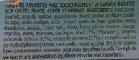 Sucettes Good For You - Ingrédients - fr