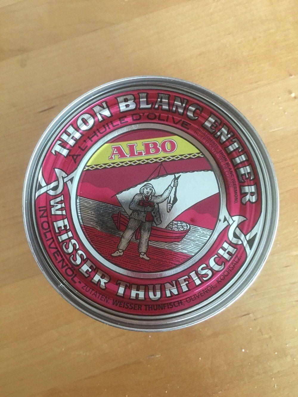 Thon Blanc Entier - Produit