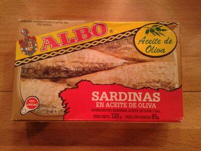 Sardinas en aceite de oliva - Producto - es