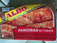 Sardines à la tomate - Product