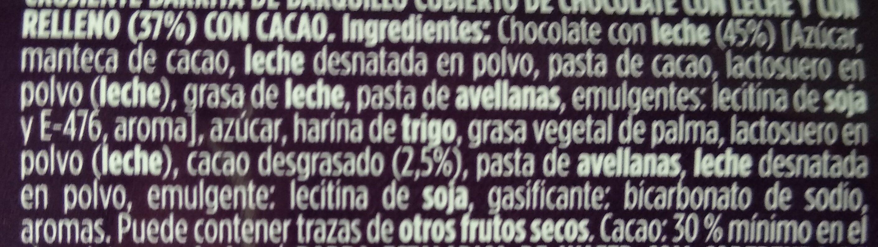 Huesitos original - Ingrediënten - es