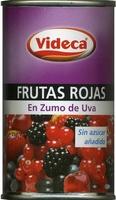"Mezcla de frutas rojas en zumo de uva ""Videca"" - Producte"