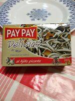 Delicias De Mar Al Ajillo Picante Paypay 115 GR - Producte