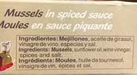 Mejillones Pay-pay Escabeche Picante (8-12 Pzas) - Ingredients