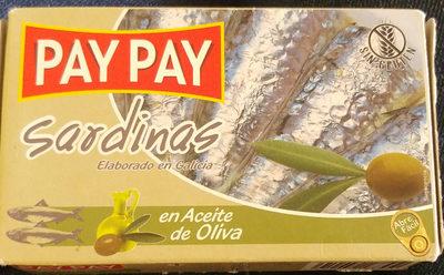 Sardinas De Las Rias Gallegas - Product