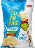 Toreras patatas fritas picantes sabor cebolleta, aceituna, pepinillo y guindilla bolsa 120 g - Produit