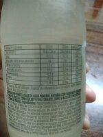 Agua mineral con gas y limón - Nutrition facts - es