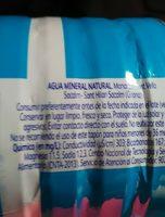 Agua - Ingredients - fr
