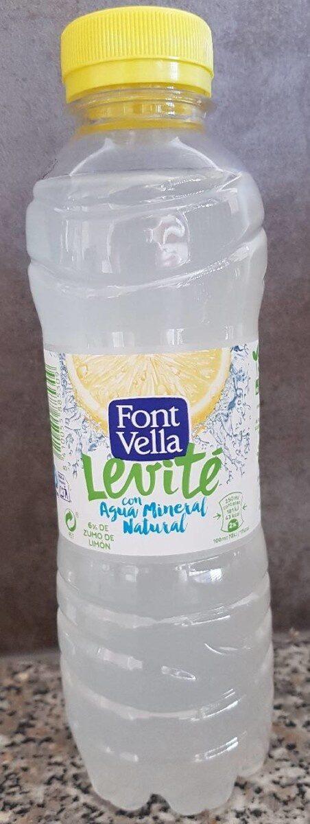 Levité con agua mineral natural (6% de zumo de limón) - Producto