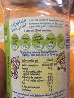 Font Vella Levité Agua Con Zumo De Lima - Ingredients - fr