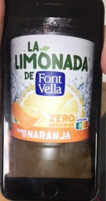 La Limonada con toque de naranja zero azúcares - Product - es