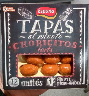 Tapas al minto Choricitos forts - Produit