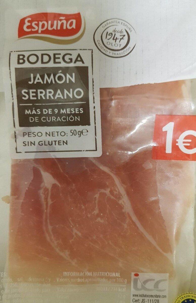 Jamón Serrano - Product