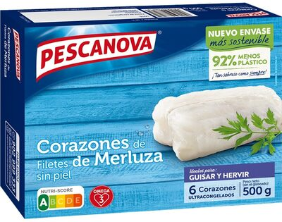 Corazones de filete de merluza - Producte - fr