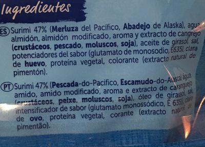 Pescanova Palitos De Mar - Ingredients