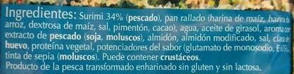 Chanquitos de surimi Enharinados - Ingredientes
