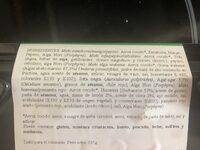 MAKIS (8) SURTIDO VEGANO - Ingredientes