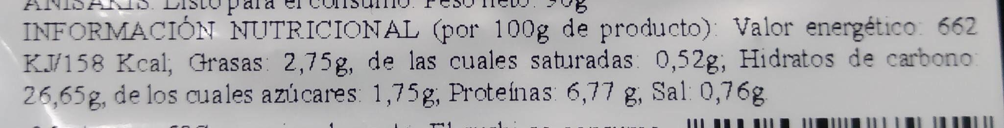 California Rolls. Combinados con pescado crudo. - Nutrition facts