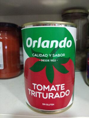 Tomate natural triturado - Producto