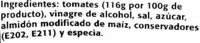 "Salsa brava ""Orlando"" - Ingredientes - es"